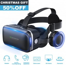 Pansonite 3D VR Headset Virtual Reality 360° Glasses Goggles Stereo Headphones. Shipping: FREE Standard International Shipping