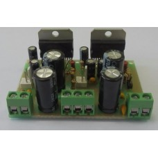 Stereo amplifier for TDA7294 2x100 W (ULF on TDA7294 two channels of 100 watts each)