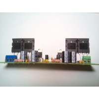 Bridge mono amplifier for TDA2030 and transistors 2SA1943 and 2SC5200 200 W