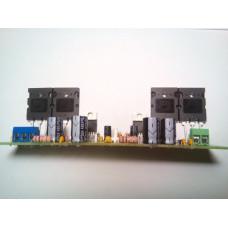 Bridge mono amplifier for TDA2030 and transistors 2SA1943 and 2SC5200 200 W
