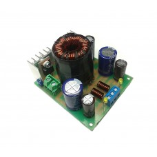 Converter of unipolar voltage 12 V into bipolar +/- 32 V