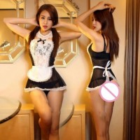 Erotic maid costume