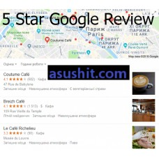 5 Star Google Review for Business Real Google SEO SAFE ⭐⭐⭐⭐⭐