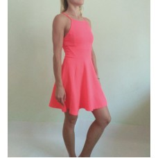 Textured Neon Dress Miss Selfridge