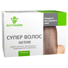 Super Hair Asset, 50 capsules, For the health of your hair