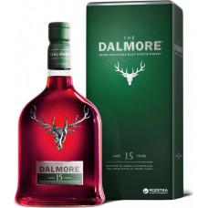 Виски The Dalmore 15 YO Single Malt в подарочной упаковке 0.7 л 40%