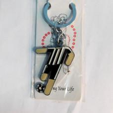 "Keychain ""Footballer"" / Souvenir key rings"
