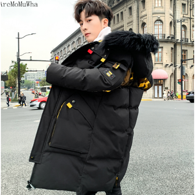 Men's Cotton Winter New Thick Fashion Jacket