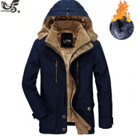 Brand winter jacket for men