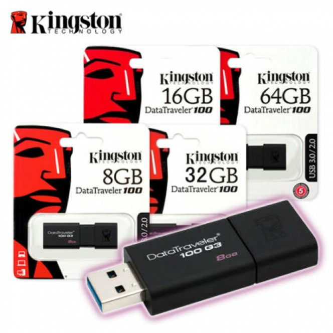 Original Kingston USB 3.0 Flash Drive 16GB