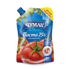"Chumak. ""Tomato paste 25%"", DP 140g   3 pieces"