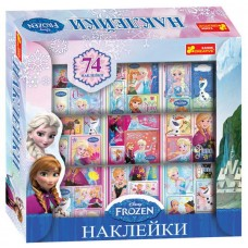 Stickers in the box Frozen (74 pcs)