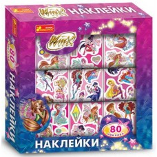 Sets of stickers in the Winx box