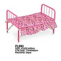 Cot for a doll