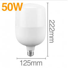 LED lamp without blinking, LED lamp 50 W 220 V