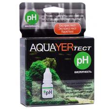 Aquarium tests AQUAYER pH test