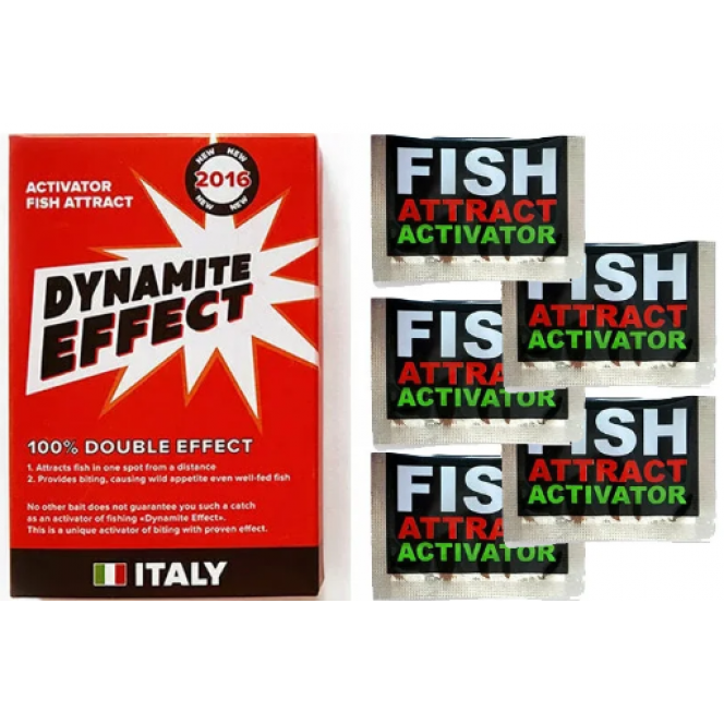 Dynamite Effect - Bite Activator with pheromones (Dynamite Effect), the most powerful bait for fishing