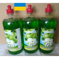 Liquid hand soap Fem APPLE Odor neutralizing 1000 ml 3 pieces