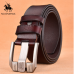 NO.ONEPAUL Genuine Leather For Men High Quality Black Buckle Jeans Belt Cowskin Casual Belts Business Belt Cowboy waistband  125cm