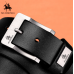 NO.ONEPAUL cow genuine leather luxury strap male belts for men new fashion classice vintage pin buckle men belt High Quality 125cm