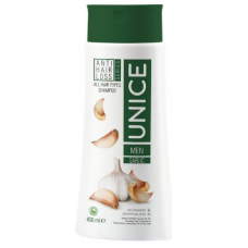 Unice Garlic Shampoo for Men against Hair Loss, 400 ml