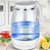 Electric kettle, kettle, fast heating, hot water, boiling, kettle, glass, blue lamp, heating kettles, auto shut off, boiler, 2l