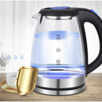 Stainless Steel Household Electric Kettle Electric Kettle Bag Adhesive Kettle Colored Pot Glass Kettle Hot Pot