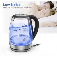 ANIMORE 2L glass Electric kettle automatically turns off stainless steel anti-hot Electric kettle Household appliances EK-02