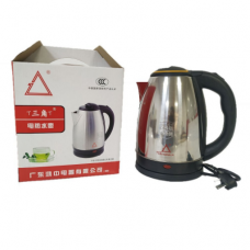 Stainless steel electric kettle, 2L, energy-efficient, anti-dry, water proof, heating, drip tray, jug shut off automatically, kettle