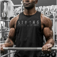 New Mens Summer Fitness Activewear Tops T-Shirt Gym Bodybuilding Muscle Tee Vest