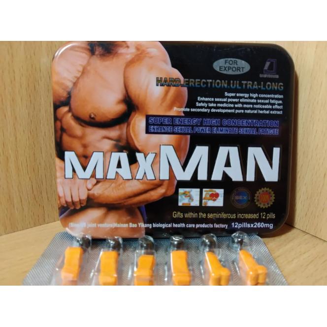 Male pathogen MaxMen MaxMan ORIGINAL NEW.