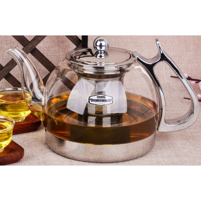 Heat-resistant glass kettle electromagnetic oven multifunctional kettles induction cooker kettle