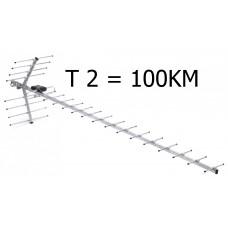 television antenna Wave 2-24. signal gain 14-16 dB