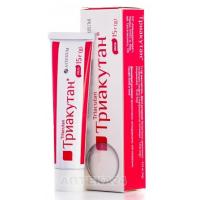 Triacutane ointment 15 g against fungus.
