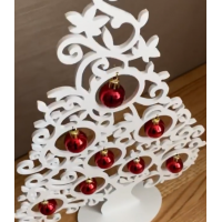 Bestseller! The Christmas trees are made of plastic (pvc 5 mm).