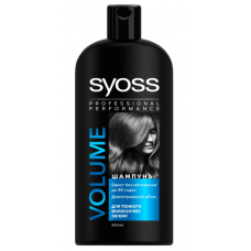 SYOSS VOLUME SHAMPOO for thin and lack of volume hair volume retention up to 48 hours