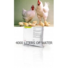 Powder for oral administration GANAMINOVIT Livisto vitamins and amino acids for poultry, pigs and horses 1 kg