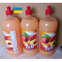Liquid hand soap Fem PEACH Odor neutralizing 1000 ml 3 pieces