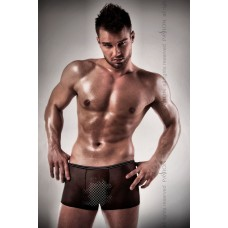 Erotic men's shorts 025 SHORT Black S / M - Passion