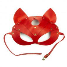 LOVECRAFT cat mask red