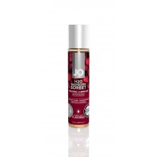 Water-based lubricant System JO H2O - RASPBERRY SORBET (30 ml)
