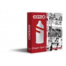 EGZO Dragon Lords member nozzle (mustache condom)
