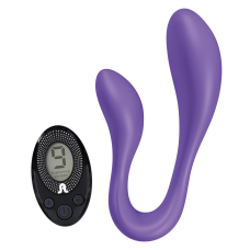 Vibrator for couples Adrien Lastic Couple Secrets II with remote control LRS
