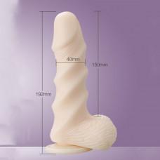 Dildo Leten Super Muscle Large (19.2 cm)