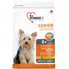 1st Choice (Fest Choys) Senior Toy&Small Breeds - A dry feed with chicken for the aging dogs pass also small breeds