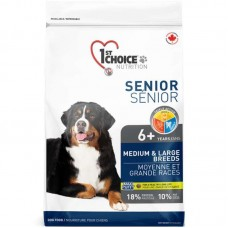 1st Choice (Fest Choys) Senior Medium&Large Breeds - A dry feed with chicken for the aging dogs of average and large breeds