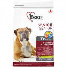 1st Choice (Fest Choys) Senior Lamb Fish - A dry feed with a lamb and fish for the aging dogs