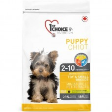 1st Choice (Fest Choys) Puppy Small Breeds - A dry feed with chicken for puppies pass also small breeds