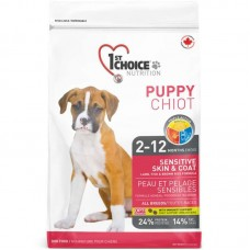 1st Choice (Fest Choys) Puppy Lamb Fish - A dry feed with a lamb and fish for puppies of all breeds