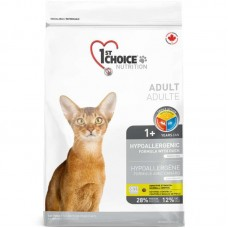 1st Choice (Fest Choys) Hypoallergic is the Dry hypoallergenic feed with a duck for cats
